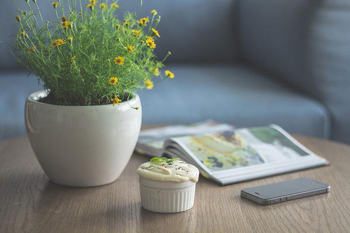 Kwiaty w ozdobnych donicach jako ciekawy element dekoracyjny w Twoim salonie